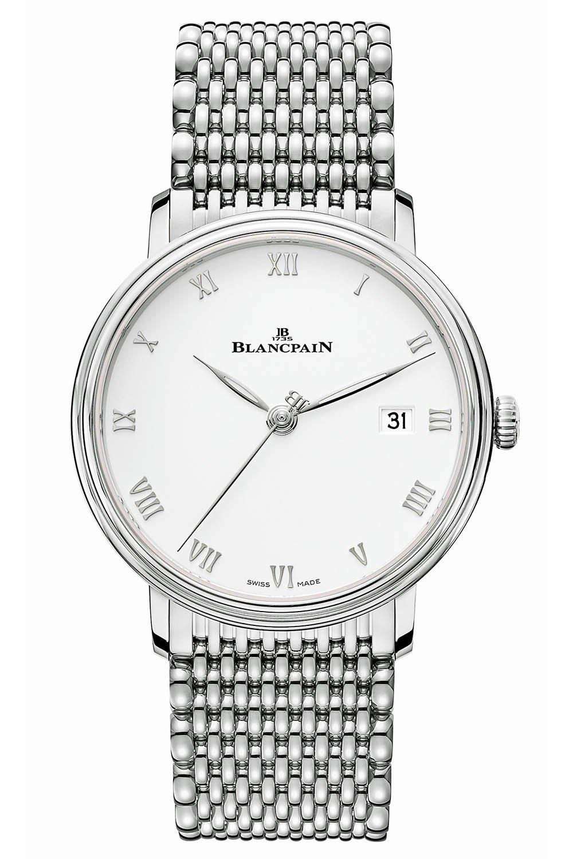 """בלנקפיין וילרט אולטרה סלים 38 מ""""מ. מקור - Monochrome Watches."""