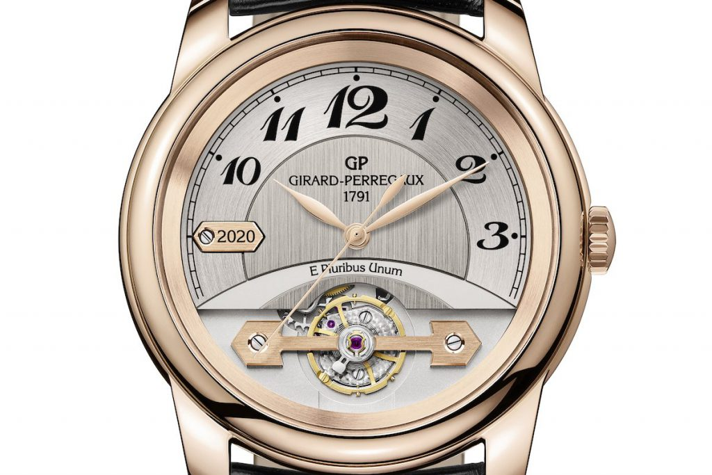 שעון הג'יררד פרגו שנמכר במסגרת המכירה הפומבית Covid-19 Solidarity Auction. מקור - The Rake.