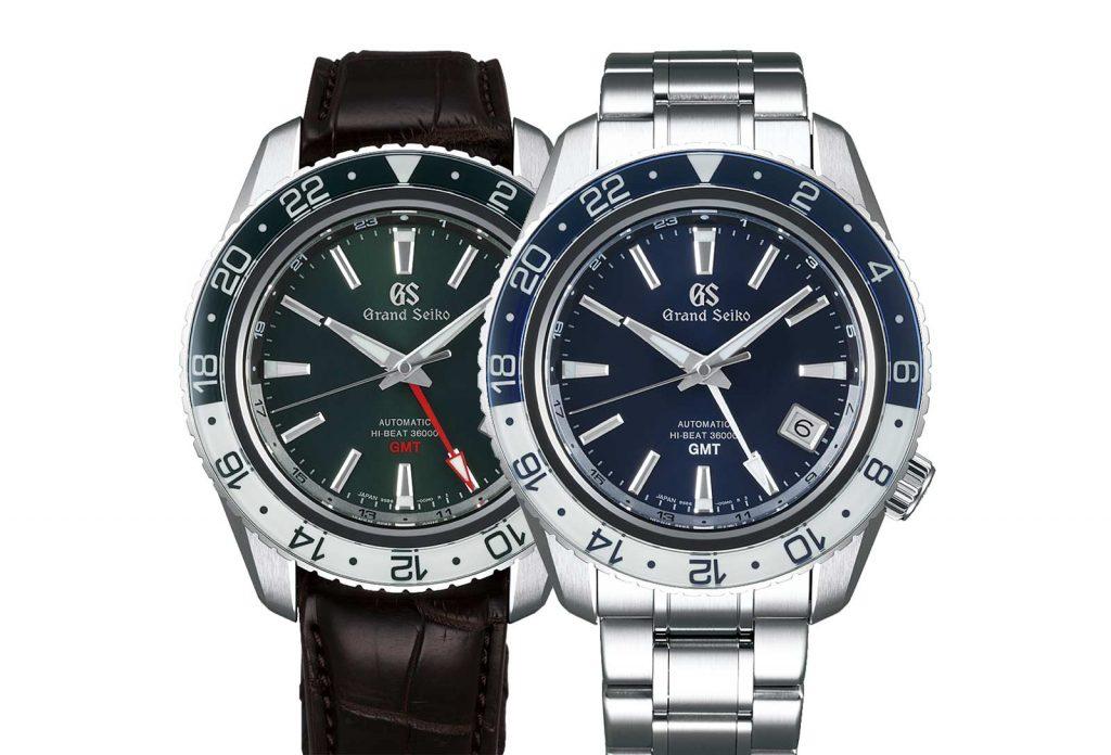 שעוני GMT חדשים מבית גרנד סייקו. מקור - TimeandWatches.
