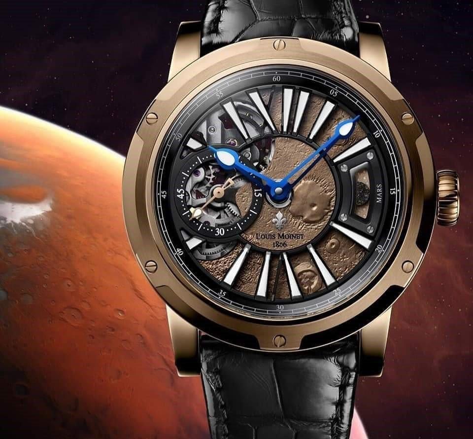 שעון מאדים של לואי מוינט. מקור- אינסטגרם לואי מוינט הרשמי.