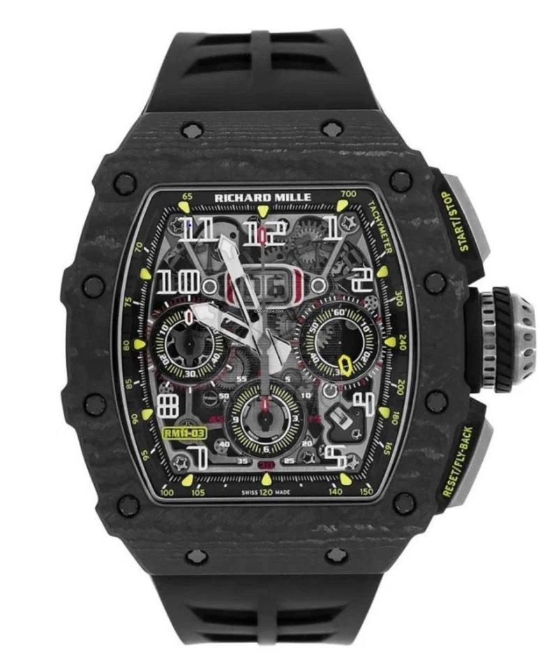 שעון הריצ'רד מיל אשר נגנב מביתו של ריאד מחרז. מקור - WatchPro.