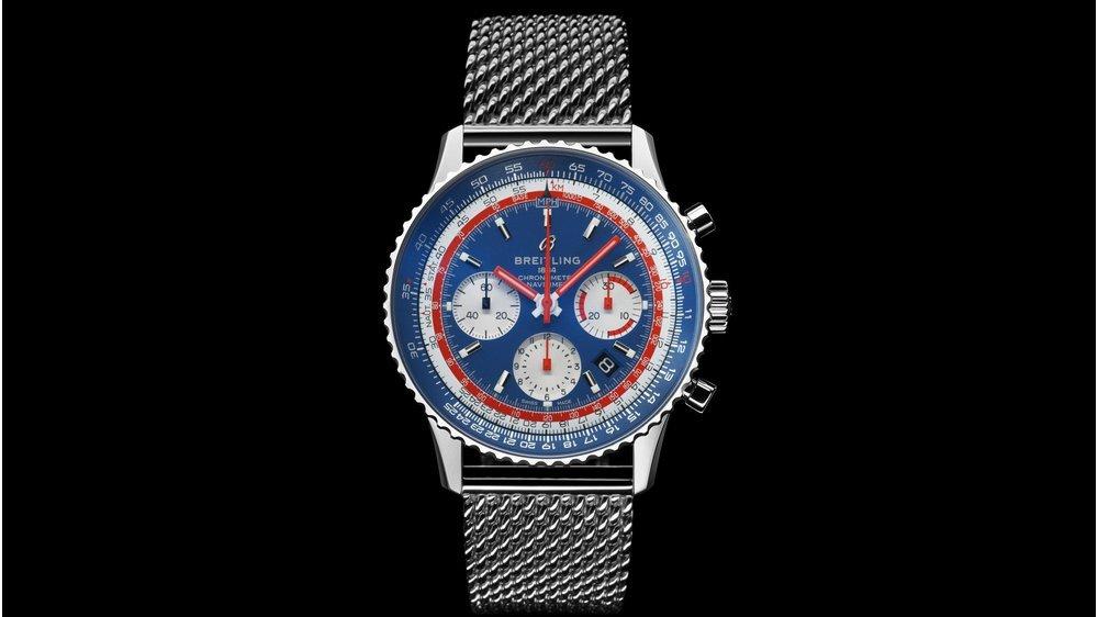 """Covid-19 Solidarity Auction - שעון הברייטלינג נוויטיימר של מנכ""""ל ברייטלינג. מקור - ברייטלינג."""