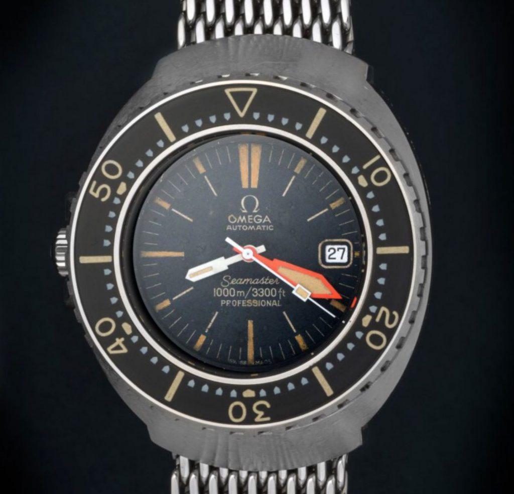 שעון אומגה סימסטר 1000 מטרים. מקור - Omegaseamaster1000.
