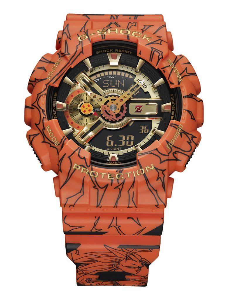 גוף השעון עם איורים מהסדרה. מקור - WatchPro.