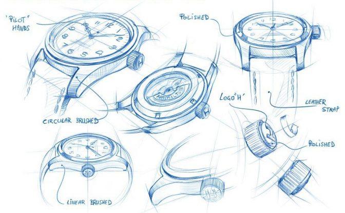 העבודה על שעוני היד לסרט בין כוכבים. מקור - AblogtoWatch.