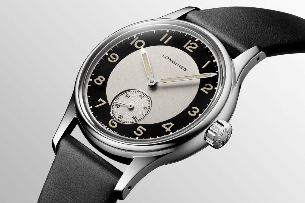 לונג'ין הריטאג' קלאסיק טוקסידו. מקור - Monochrome Watches.