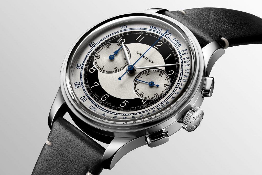 דגם הכרונוגרף בסדרת הקלאסיק טוקסידו. מקור - Monochrome Watches.