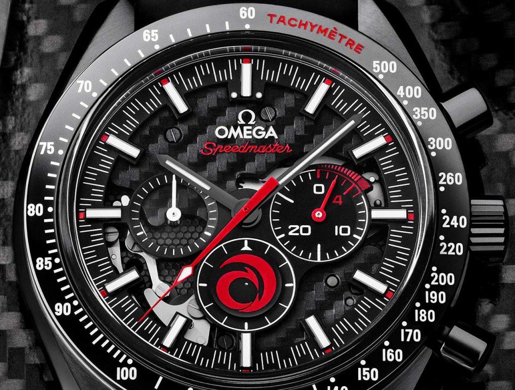 לוגו קבוצת השיט בכרונוגרף 12 השעות של השעון. מקור - TimeandWatches.