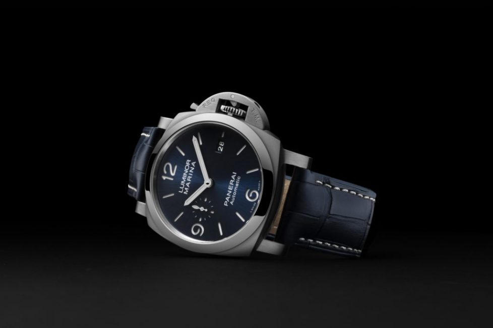 PAM01313 - דגם חדש בסדרת הלומינור מרינה של פנריי. מקור - Watchtime.