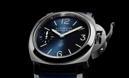 """פנריי לומינור """"הים הכחול"""" רפרנס PAM01085. מקור - TimeandWatches."""