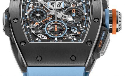 סגסוגת ה-Grey Cermet בשעון החדש של ריצ'רד מיל. מקור - Ablogtowatch.