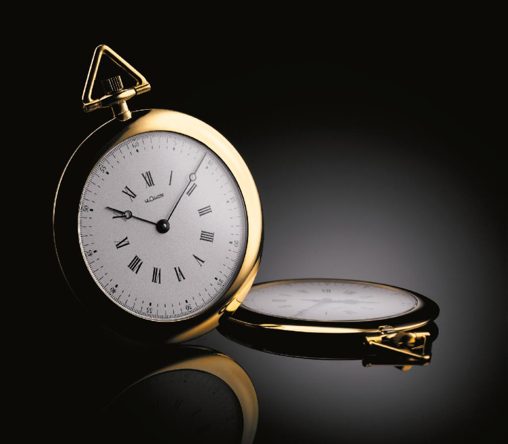 """שעון הכיס משנת 1907 ה-""""Couteau"""" עליו מבוסס השעון. מקור - Deployant."""
