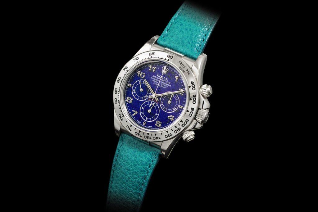 רולקס דייטונה פלטינה נדיר שובר שיאים במכירה פומבית בהונג קונג. מקור - WatchesbySjx.