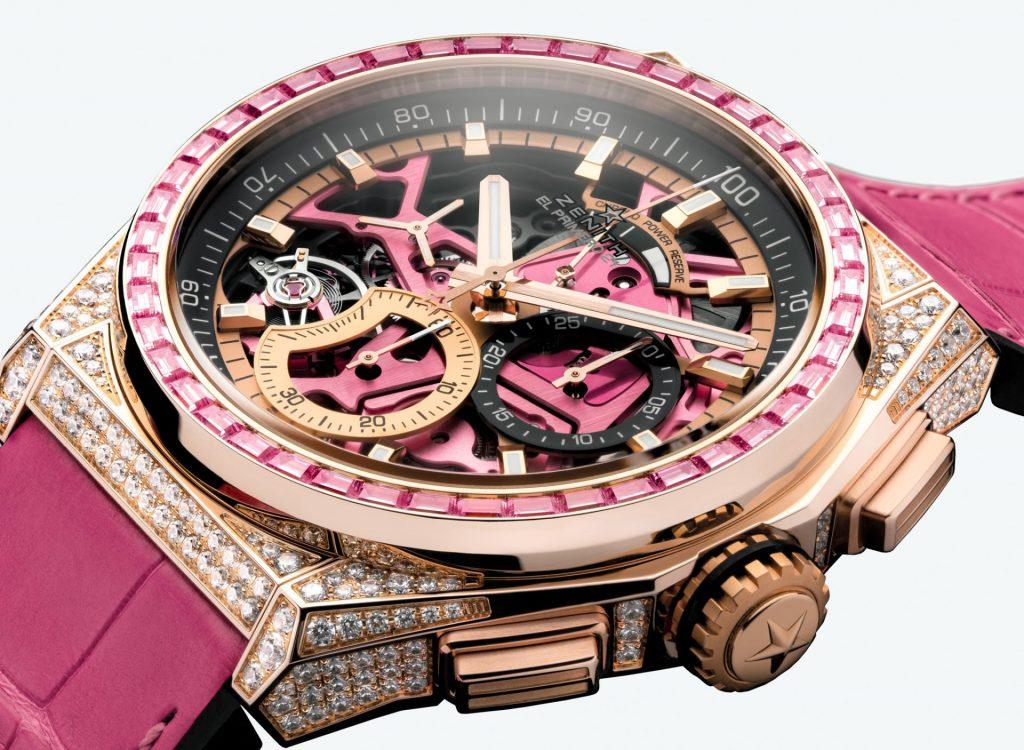 זניט Defy 21 Pink Edition. מקור - WatchPro.