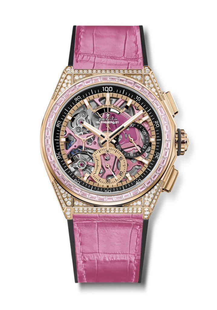 חלק מהכנסות ממכירת השעון ייתרמו לארגון הסרט הוורוד השוויצרי. מקור - Watchilove.