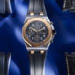 """רויאל אוק אופשור כרונוגרף """"Bucherer BLUE"""". מקור - Monochrome Watches."""