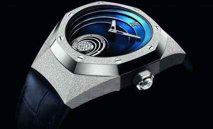 רויאל אוק קונספט Flying Tourbillon. מקור - Deployant.