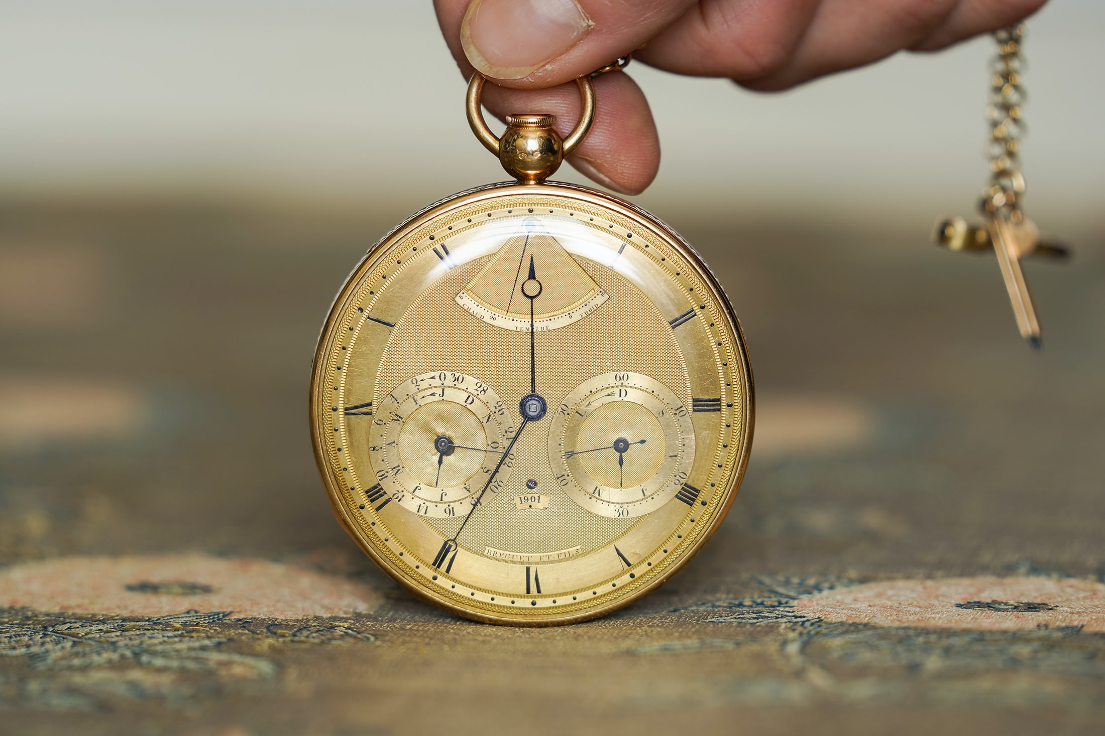 שעון קרוליין בונפרטה מספר 1806. מקור - Hodinkee.
