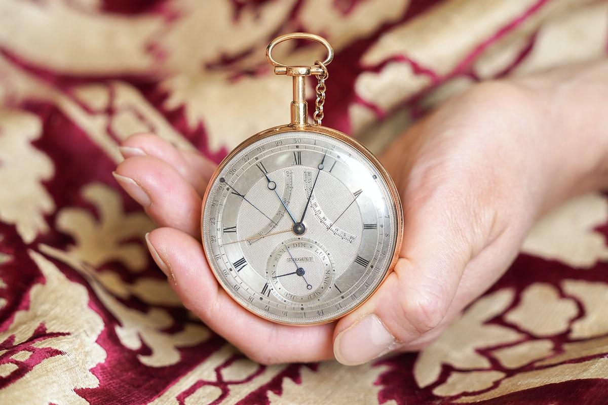 """שעון """"Duc De Praslin"""" מספר 20-148. מקור - Hodinkee."""