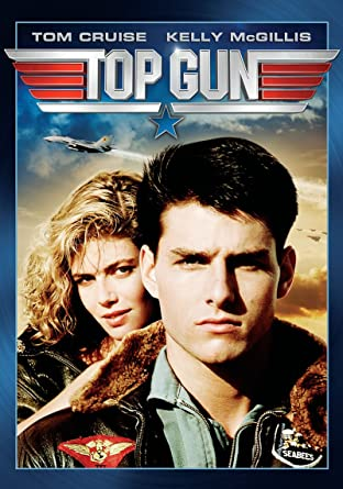 טום קרוז וקלי מקגיליס בכרזת הסרט TOP GUN. מקור - אמזון.