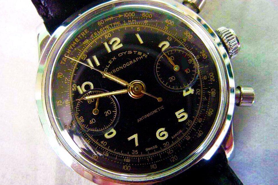 שעון הרולקס שסייע בתכנון הבריחה מהנאצים - השעון של נוטינג. מקור - RolexMagazine.com.