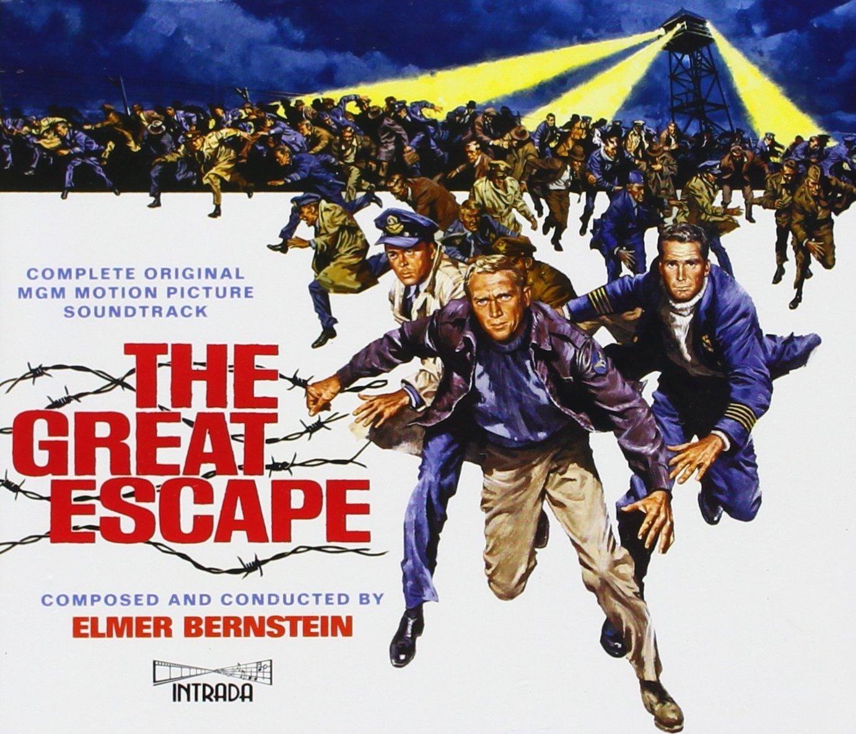 """כרזת הסרט """"הבריחה הגדולה"""". מקור - RolexMagazine.com."""