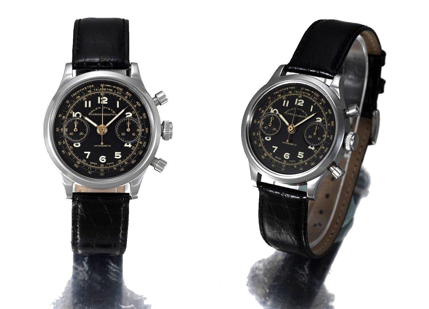 שעון הרולקס שסייע בתכנון הבריחה מהנאצים - השעון של קלייב ג'יימס נוטינג. מקור - RolexMagazine.com.