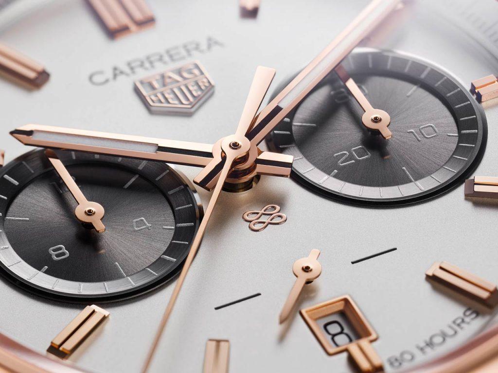שילוב אלגנטי של מחוג השניות בלוח השעון מבלי להקדיש לו לוח ייעודי. מקור - TimeandWatches.