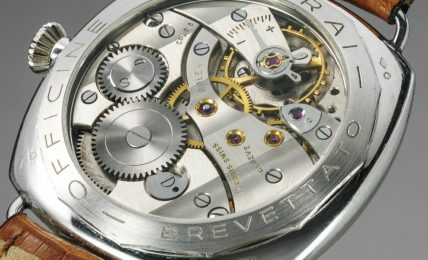 קליבר 618 של רולקס בשעון PAM21 של פנריי. מקור - Perezcope.
