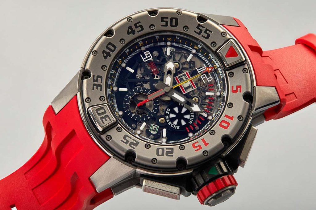 לקנות שעון של רמבו. ריצ'רד מיל RM032. מקור - TimeandWatches.