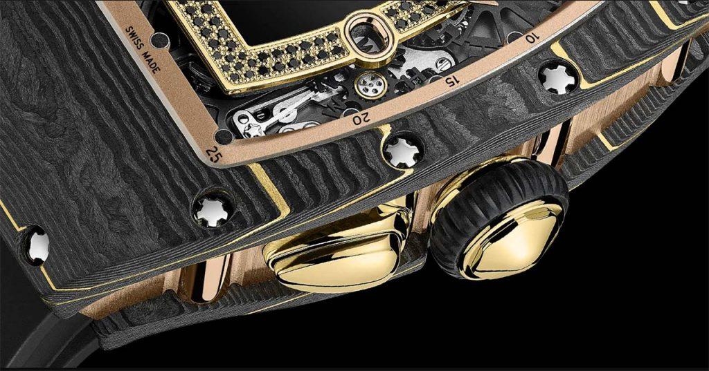 סגסוגת הזהב-פחמן-TPT של ריצ'רד מיל. מקור - TimeandWatches.