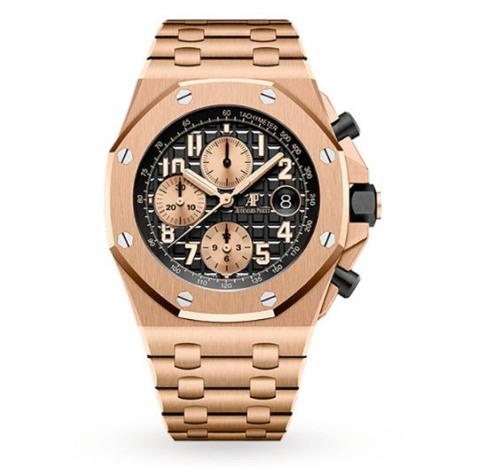 שעון אודמר פיגה רויאל אוק אופשור שאותו גנבו בני הזוג.