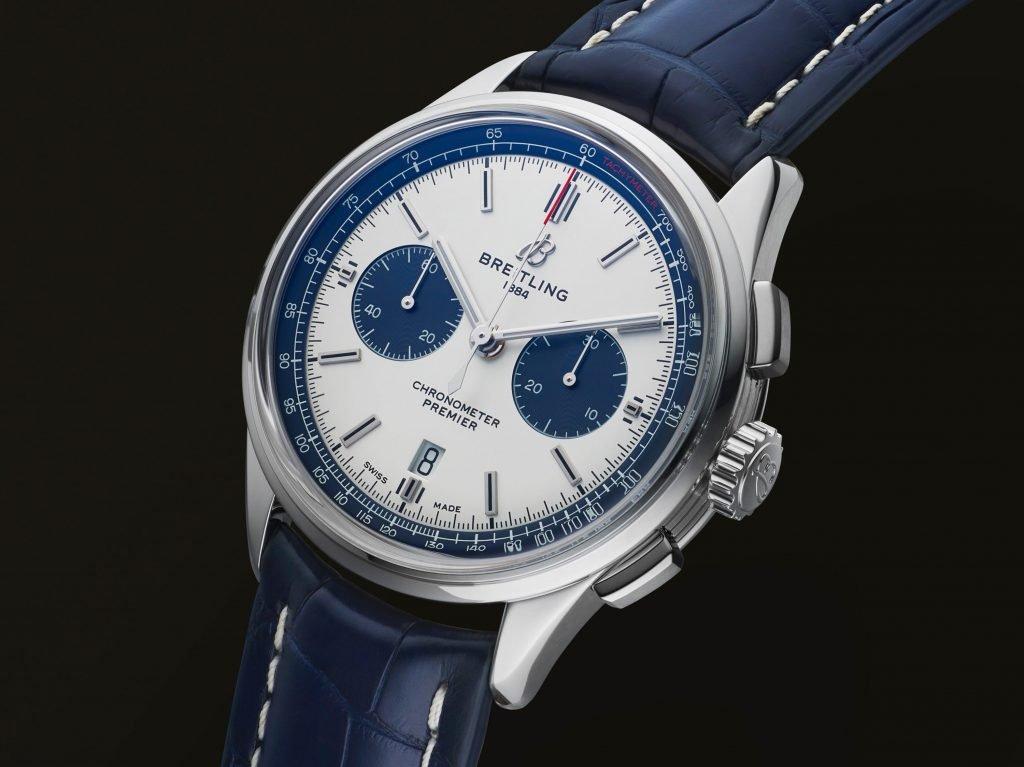 מראה מודרני לשעון הכרונוגרף הקלאסי של ברייטלינג. מקור - Hautetime.