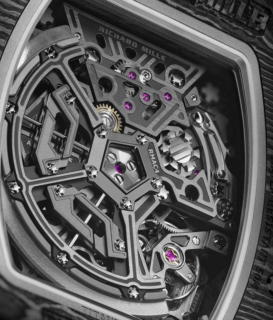 רוטור הגאומטריה המשתנה של ריצ'רד מיל. מקור - TimeandWatches.