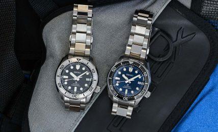 סייקו פרוספקס SPB185 ו-SPB187. מקור - Monochrome Watches.
