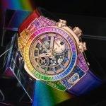 קליבר HUB1242 משולב בשעון עם פלייבאק כרונוגרף. מקור - GMTPOST.