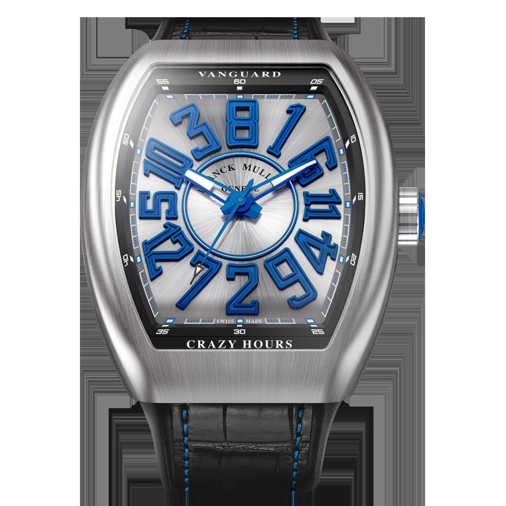 שעון מסדרת ה-Vanguard Crazy Hours. מקור - פרנק מולר.