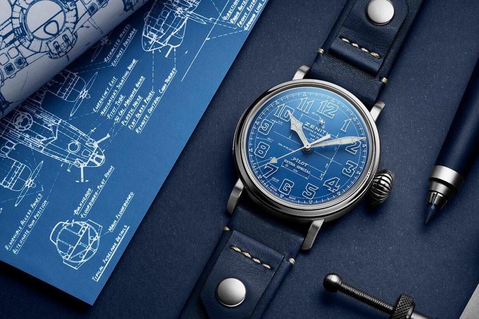 תכנון לוח השעון על גבי לוח השעון. שאפו לזניט. מקור - זניט.