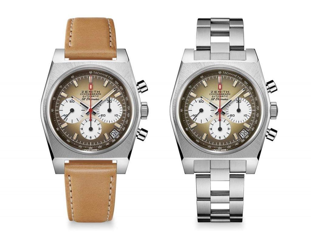 שתי הגרסאות של השעון. מקור - TimeandWatches.