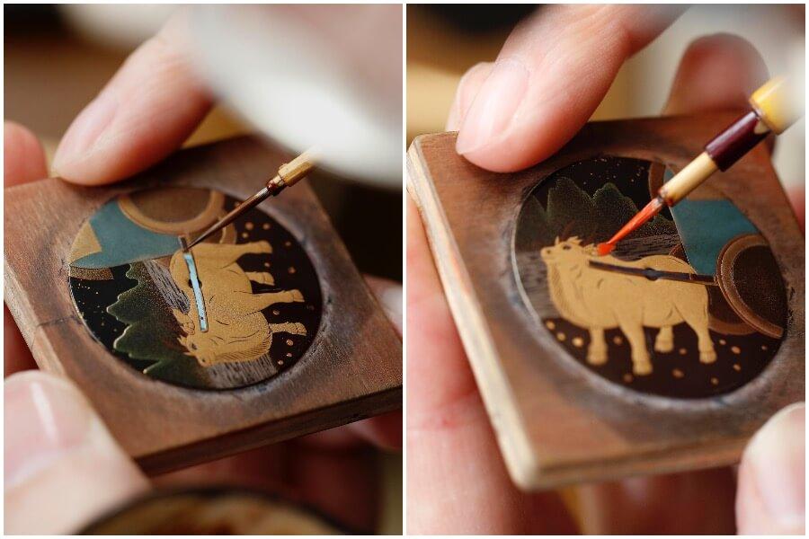 תהליך הייצור של לוח השעון. מקור - GMTPOST.