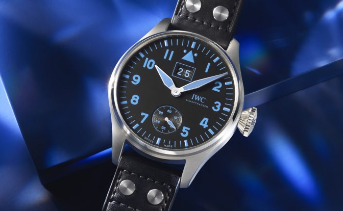 IWC ביג פיילוט בוכרר. מקור - Monochrome Watches.