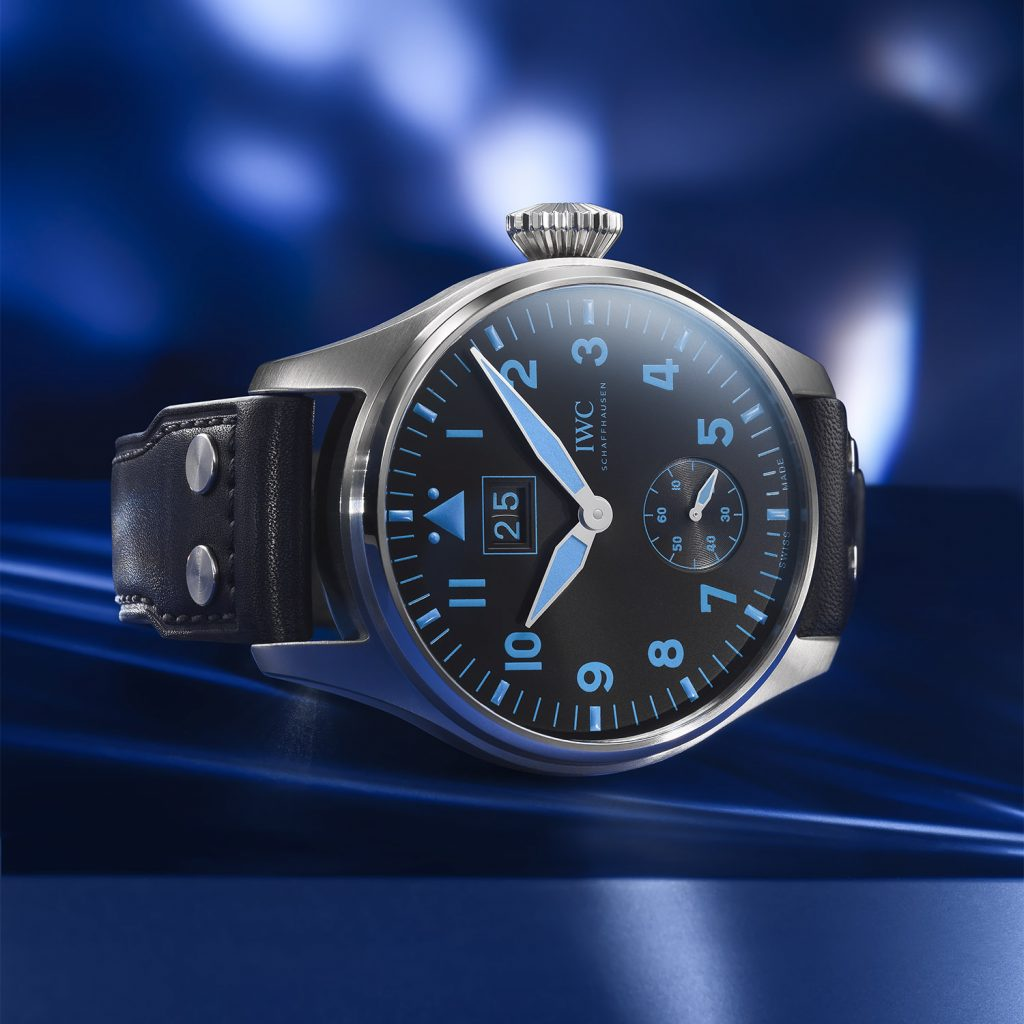 IWC ביג פיילוט בוכרר. מקור - Monochrome Watches.