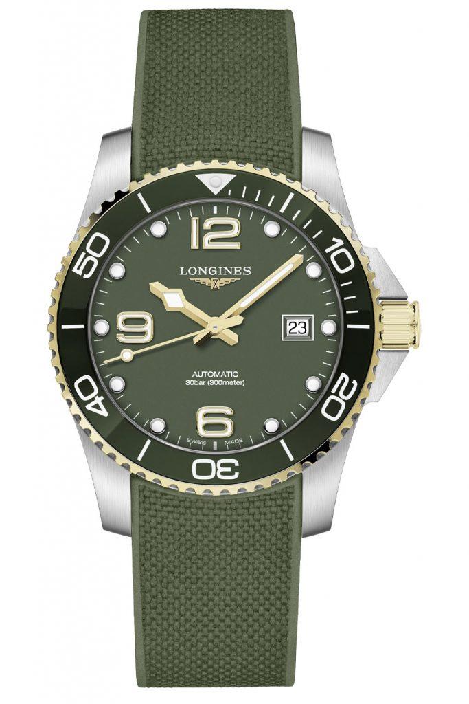 ירוק טו-טון? אפשרי. מקור - Monochrome Watches.