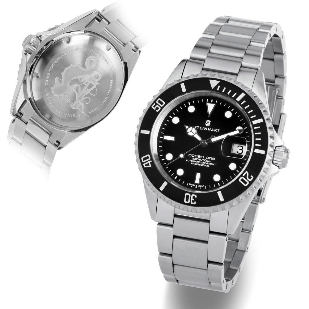STEINHART OCEAN ONE. שעון ההומאז' אולי המוכר בעולם. מקור - אתר החברה.