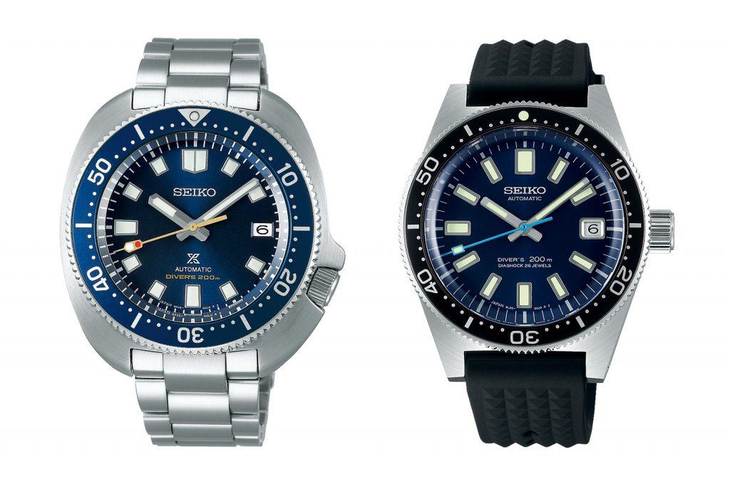 גרסאות מחודשת לשעונים אייקוניים של סייקו. מקור - WATCHESBYSJX.