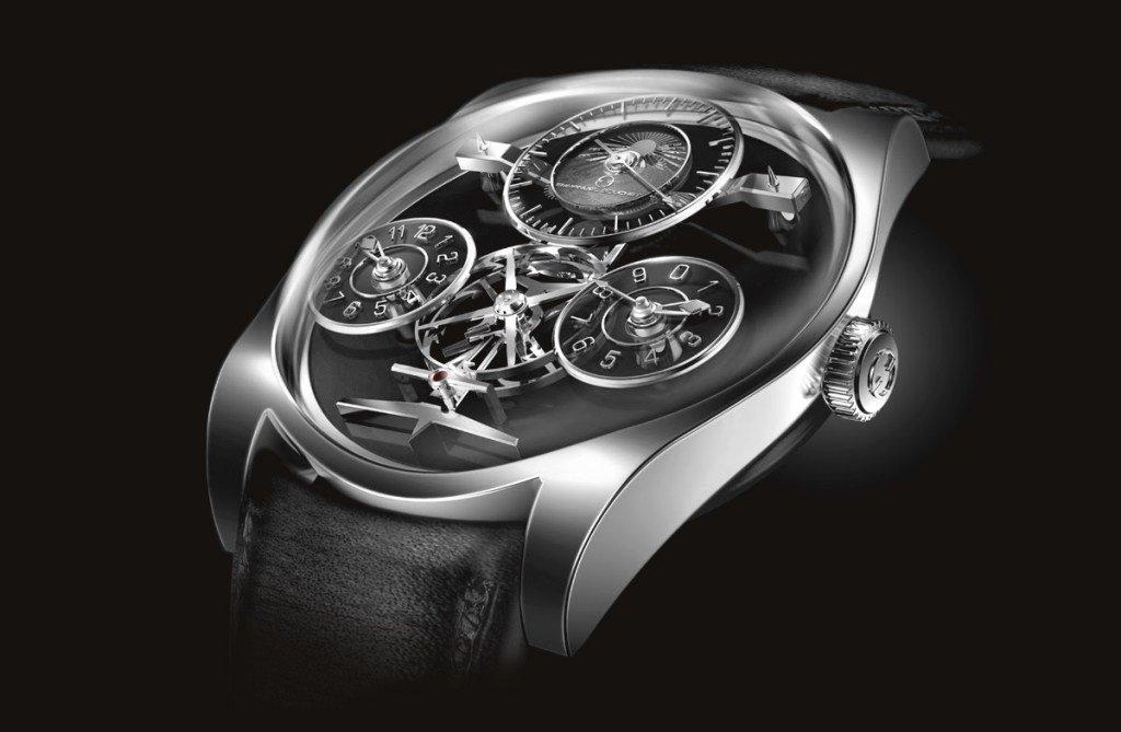 שעוני מיקרוברנד - שעון של EMMANUEL BOUCHET.