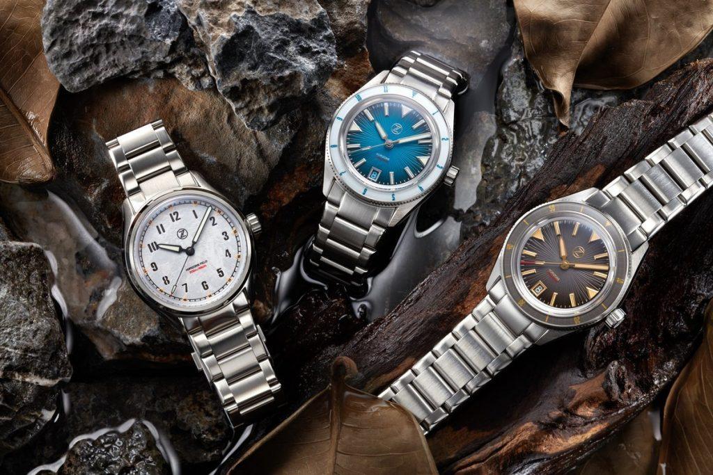 שעוני מיקרוברנד. שעונים של חברת ZELOS.