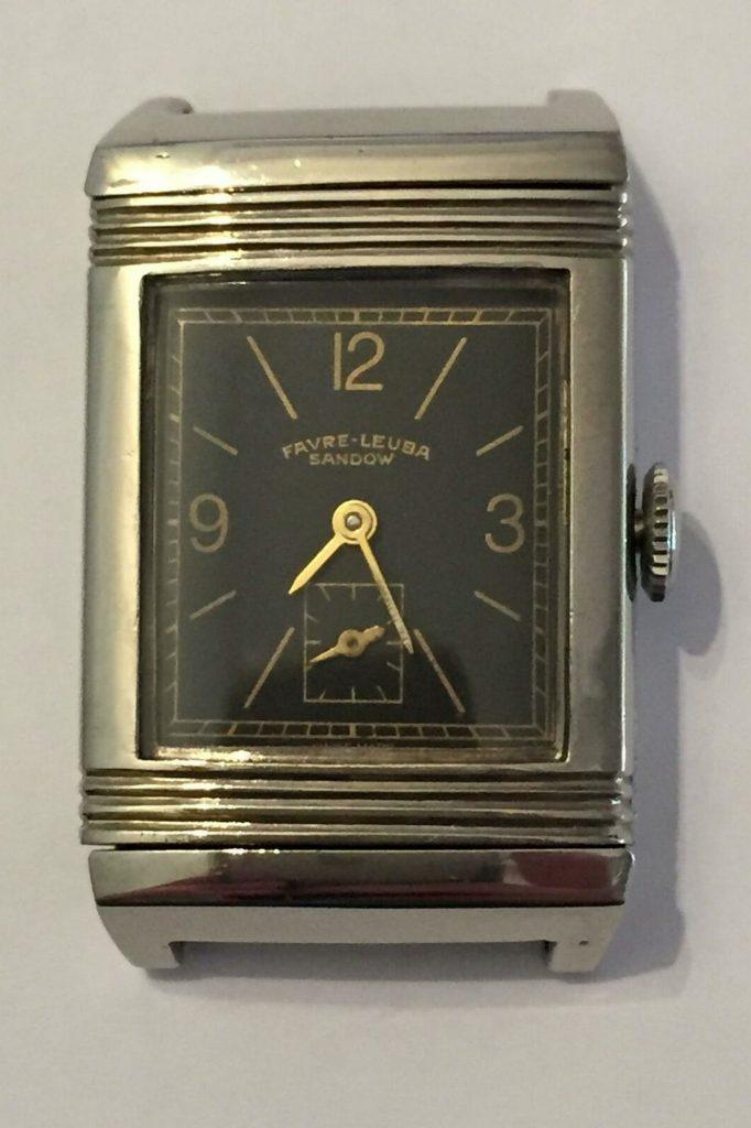 שעון SANDOW של פברה-ליובה או שעון רברסו? מקור - HODINKEE.