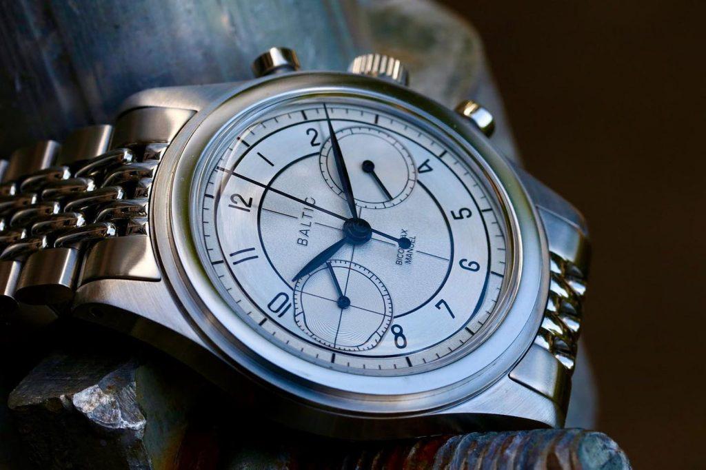 שעון של חברת BALTIC. מקור - אתר החברה.
