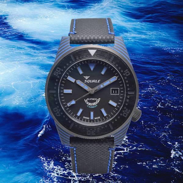 SQUALE - המיקרוברנד שמתמחה בשעוני צלילה. מקור - SQUALE.